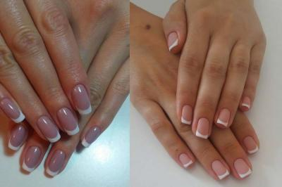 All about French manicure