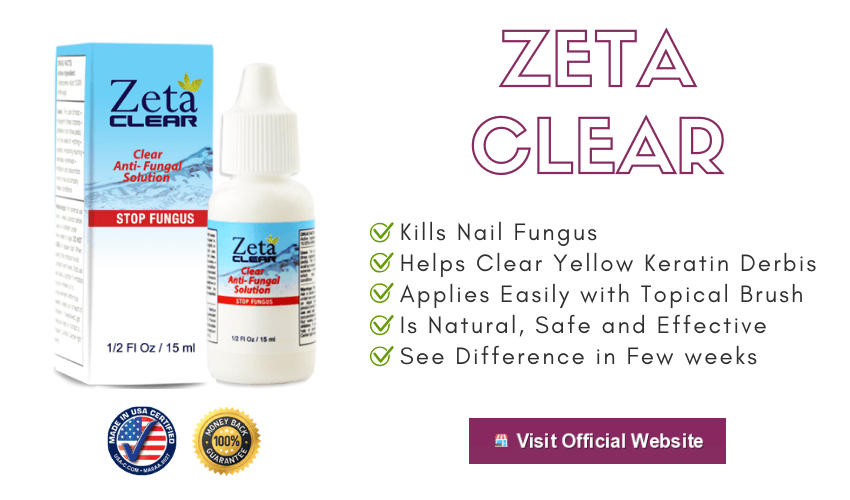 Zeta Clear Nail Fungus treatment